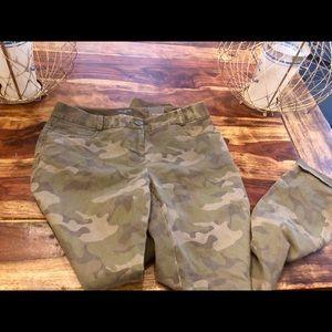 Limited skinny camo pants